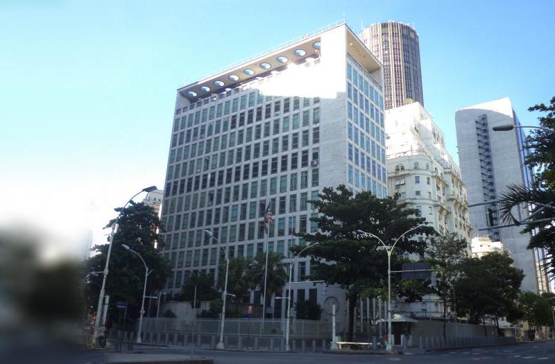 O Consulado Geral dos Estados Unidos no Rio de Janeiro foi inaugurado em  novembro de 1971, quando ... 6654f87876