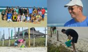 Praia da Reserva cleaning initiative