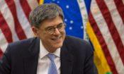 O secretário do Tesouro dos EUA Lew em mesa redonda na Embaixada dos EUA em Brasilia, Foto: Embaixada dos EUA Brasilia.