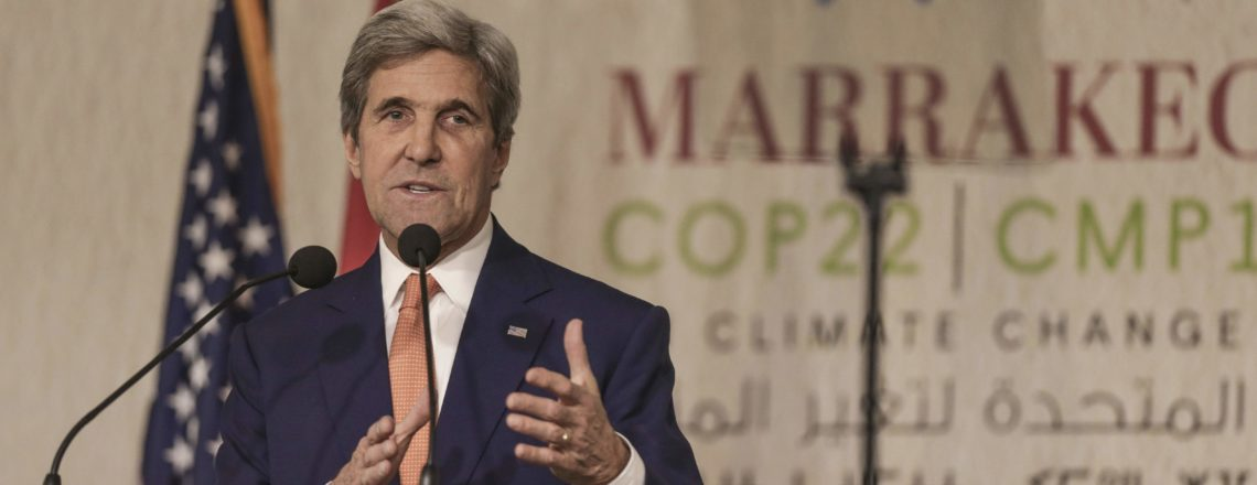 Sec. John Kerry's Remarks at COP22 to the UN Framework Convention on Climate Change