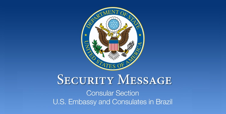 Security Message for U.S. Citizens in Recife