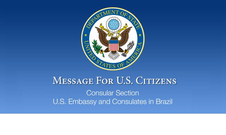 U S Embassy Consulates In Brazil