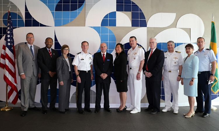 Members of the 2017 U.S. LAAD Delegation