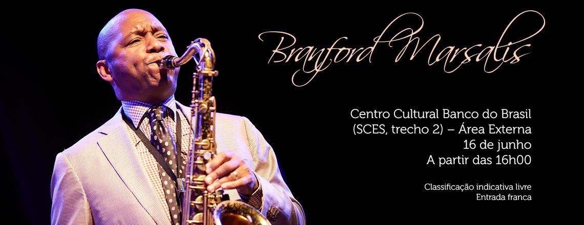 CCBB in Concert recebe o saxofonista Marsalis e a Orquestra Sinfônica do Teatro Nacional