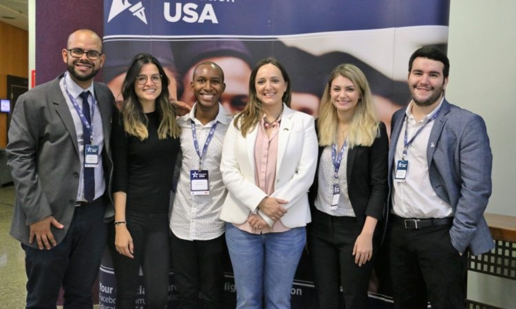 Feira EducationUSA em BH - abril de 2018