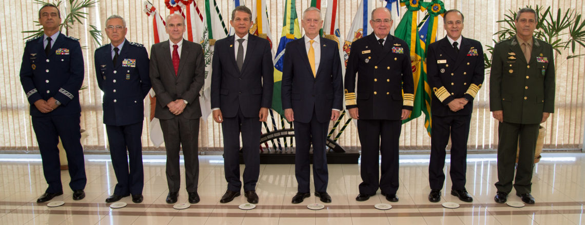 Mattis Thanks Brazilian Officials for Leadership in Defense Cooperation