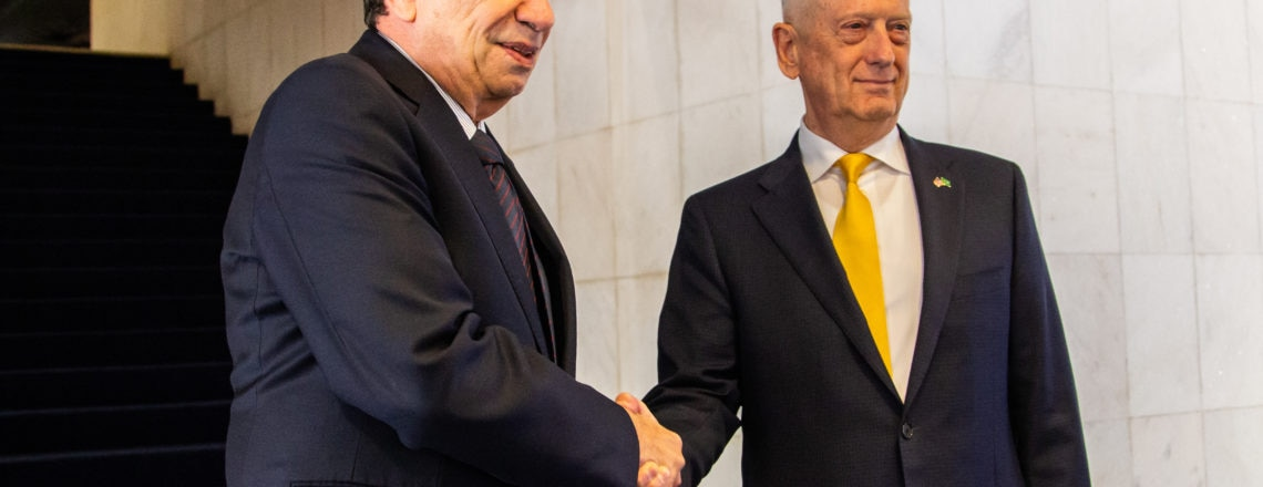 Mattis and Brazil's Foreign Minister Meet to Reaffirm Bilateral Relationship