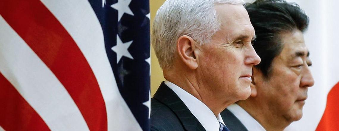 Pence: EUA intensificarão as sanções contra a Coreia do Norte