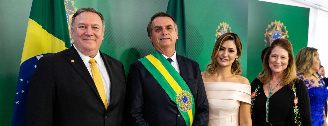 Secretary Pompeo's Meeting With Brazilian President Jair Bolsonaro